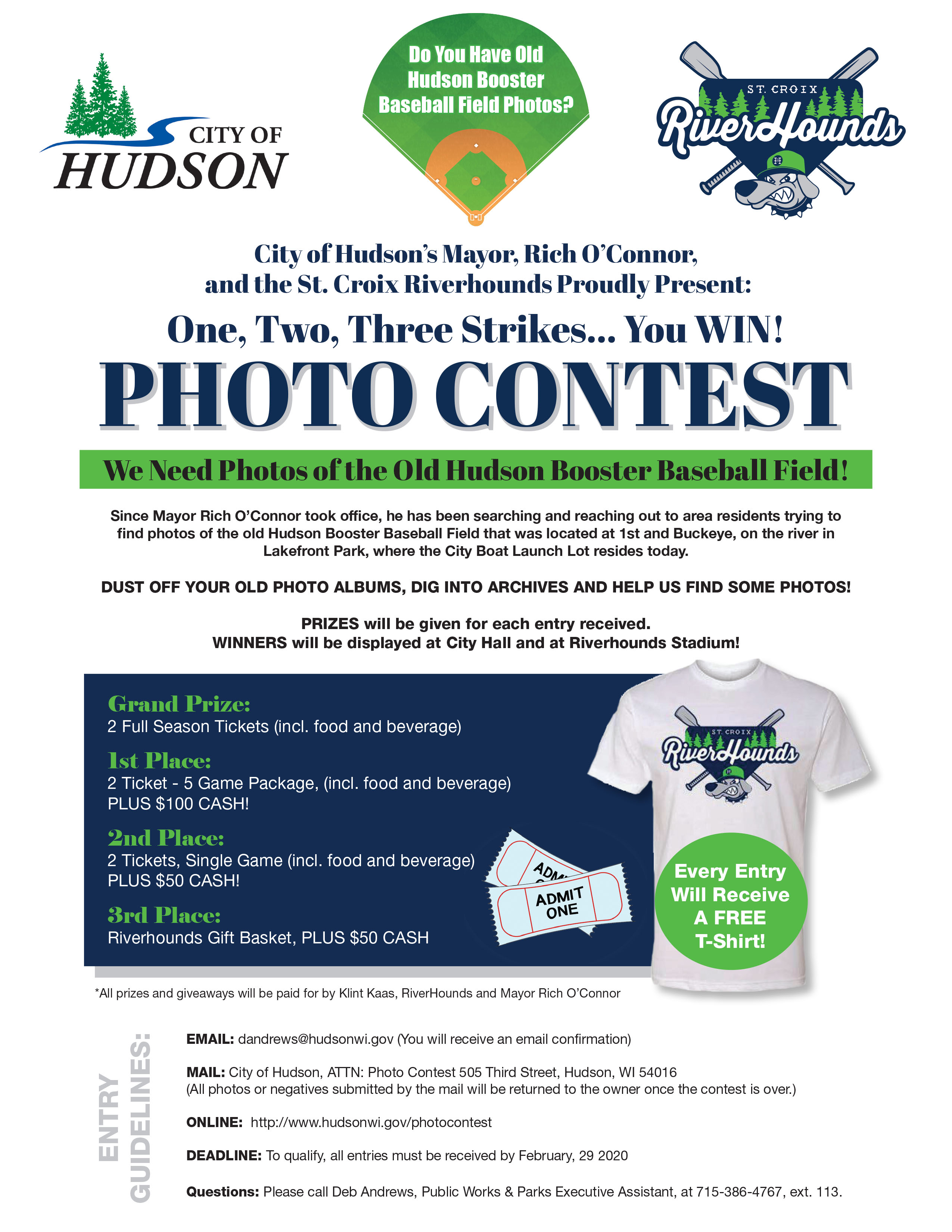 City Of Hudson & St. Croix River Hounds Photo Contest Information